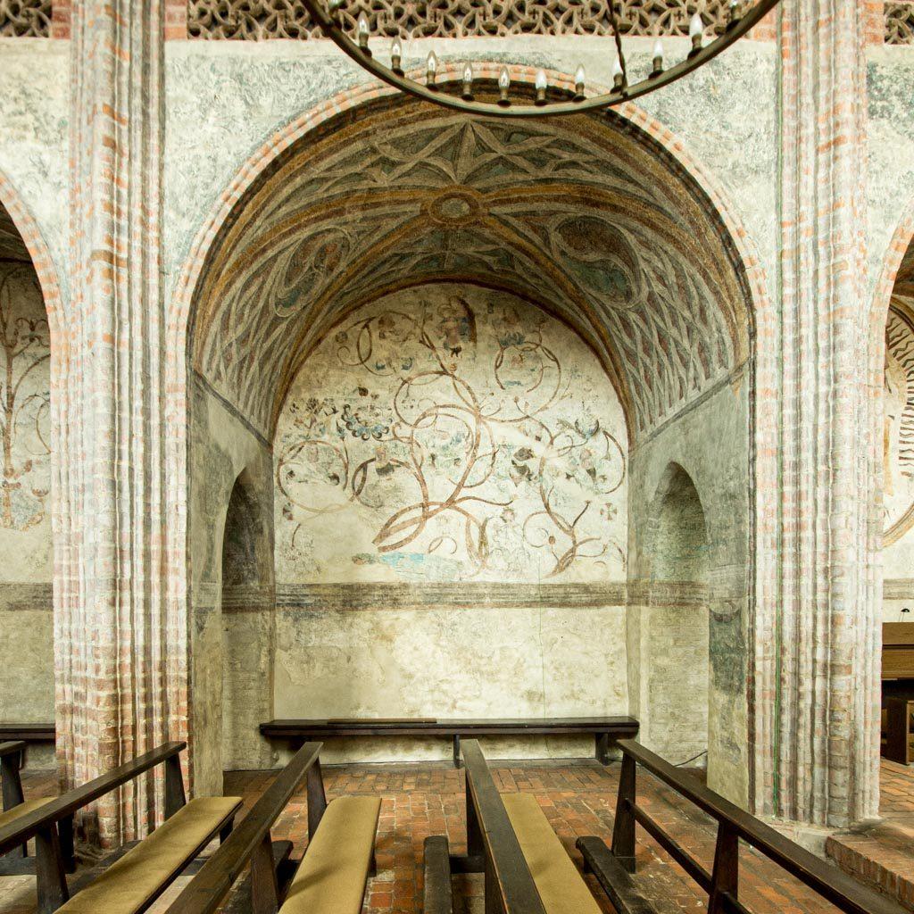 Wandmalereien in der Kapelle