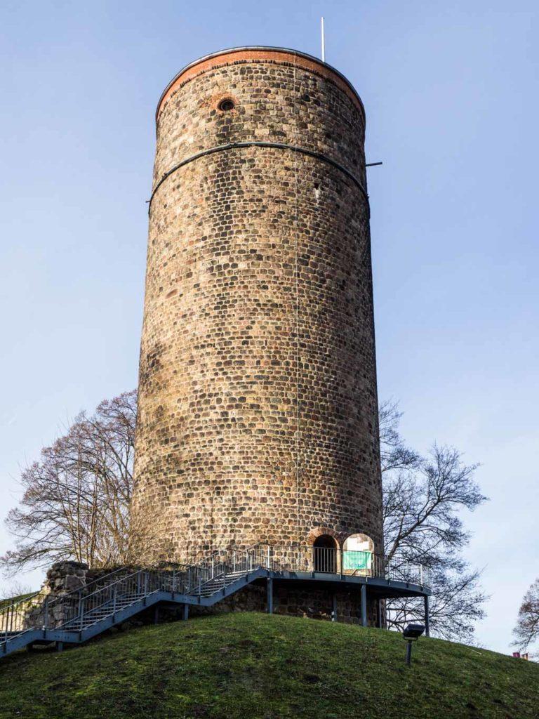 Bergfried der Burg Belzig