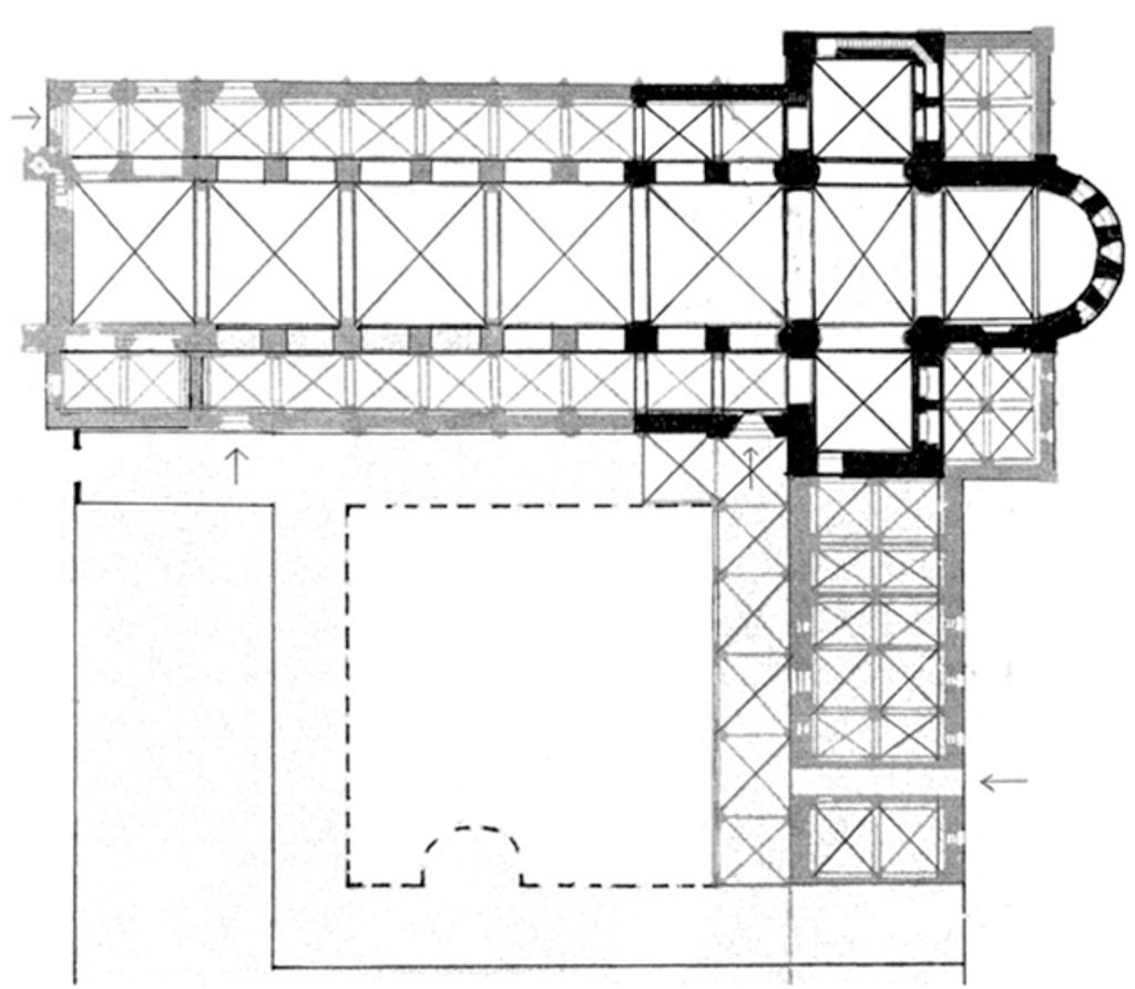 Lageplan Kloster Lehnin