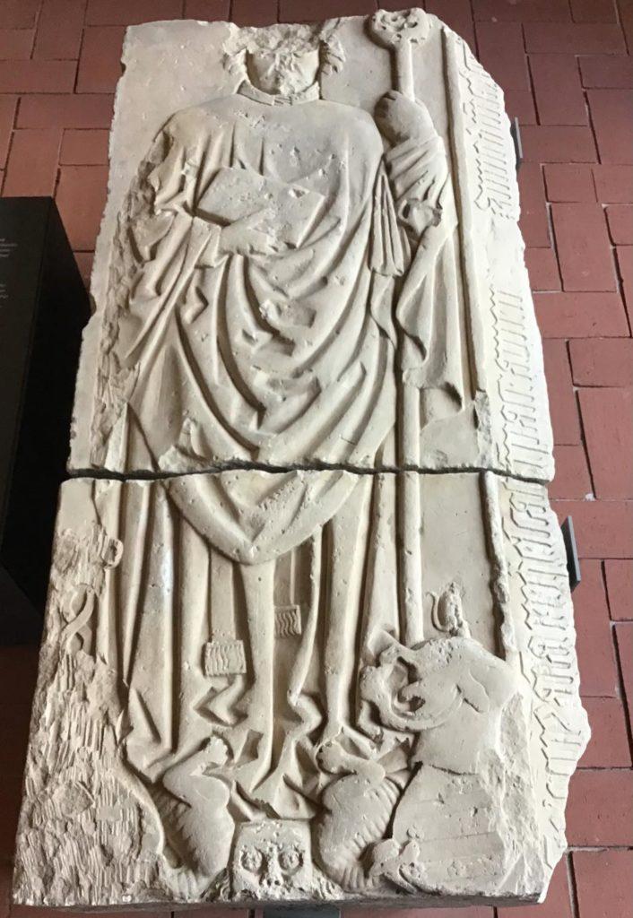 Grabplatte Dietrichs von Stechow