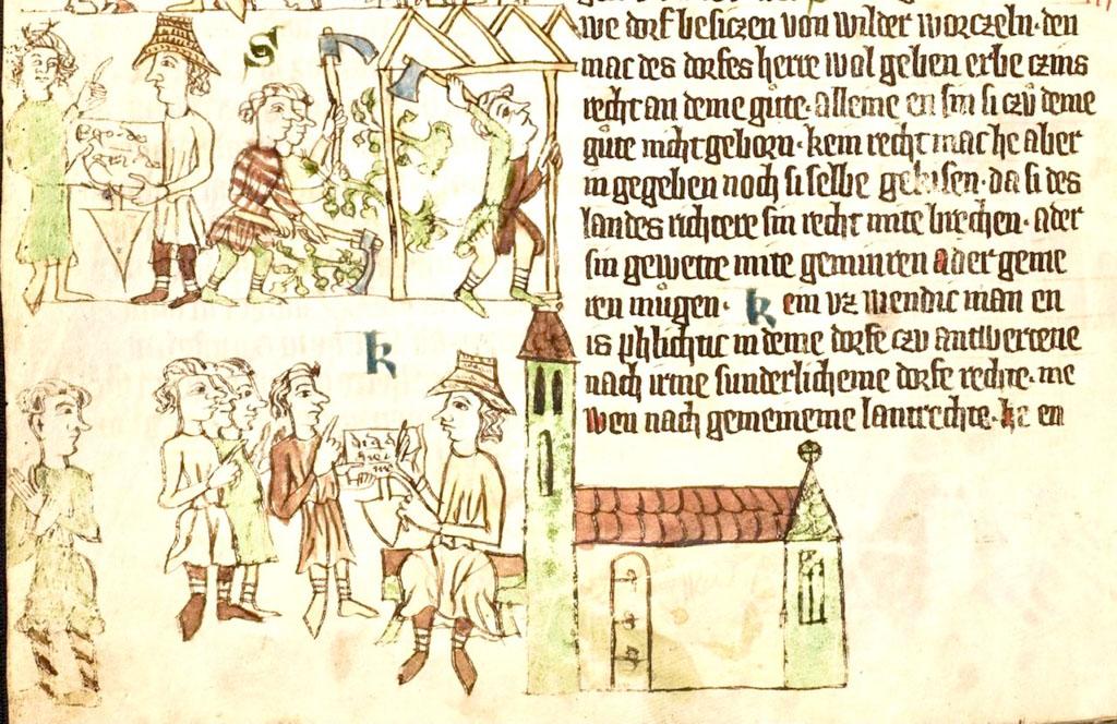 Heidelberger Sachsenspiegel. Lokator